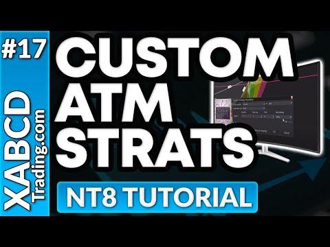 How to Create A Ninjatrader 8 ATM Strategy