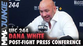 UFC 244: Dana White post-fight press conference