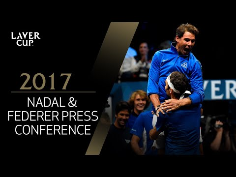 Nadal and Federer Press Conference (Match 8) | Laver Cup 2017