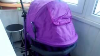 Коляска-трость Baby Care Flash фиолетовая