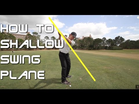 How to Shallow Your Golf Swing Plane – 60 Sec. Golf Tips