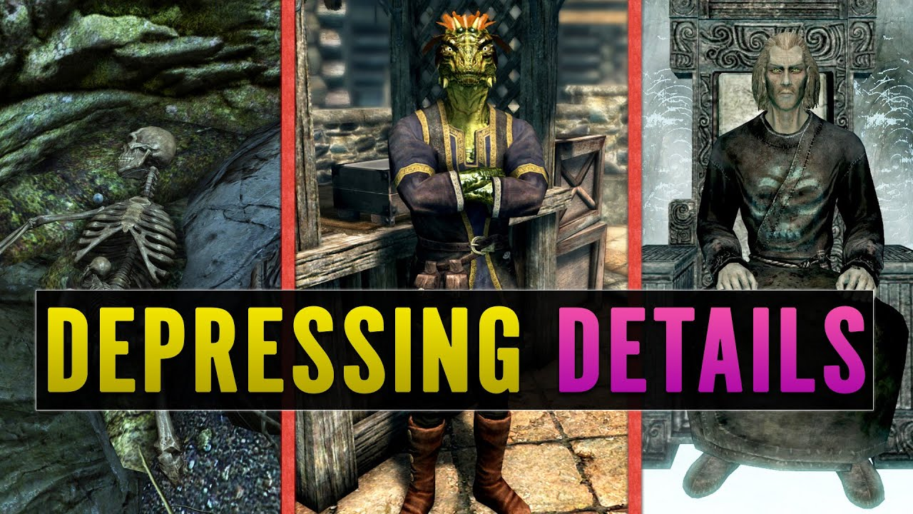 5 DEPRESSING Details You Missed In Skyrim thumbnail