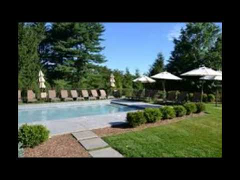 inground pool landscaping pictures - youtube