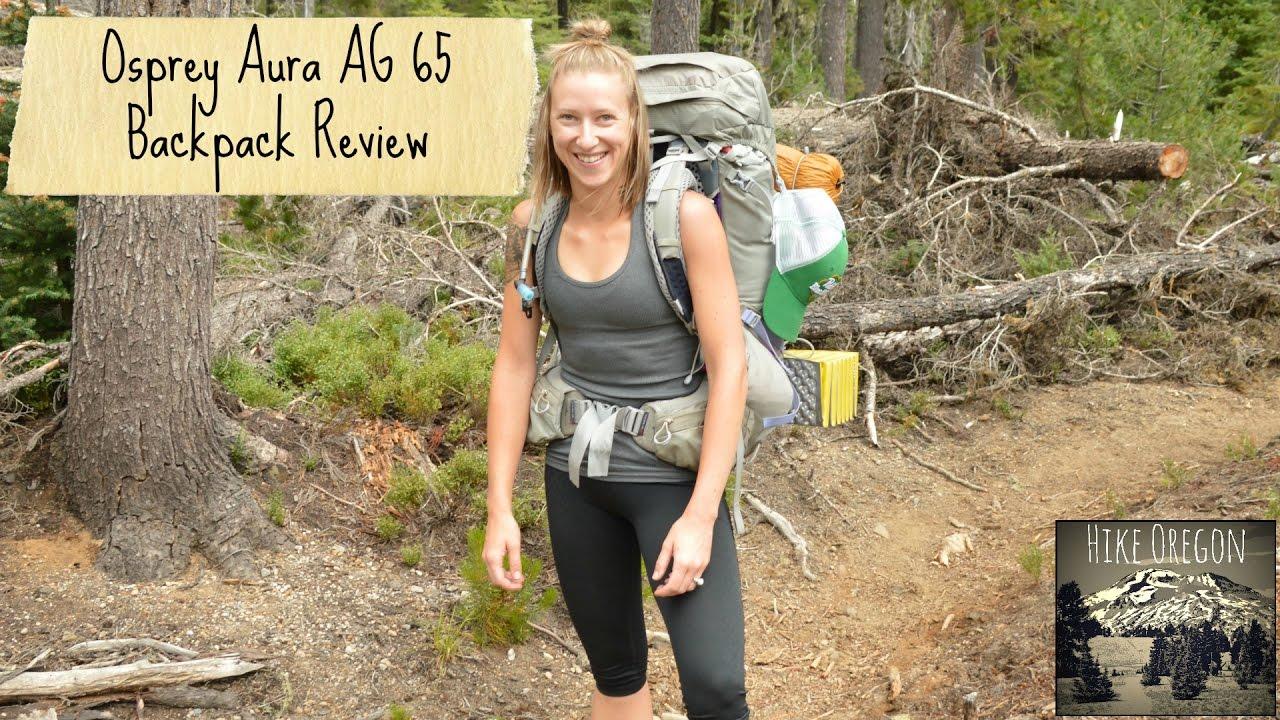 cc485c63df Osprey Aura AG 65 Backpack review - YouTube