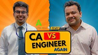 Alright! When CA Met Engineer Again ft. Kumar Varun, Raunak Ramteke
