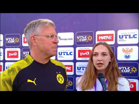 5th Place Game. Olympique Lyonnais (France) vs Borussia Dortmund (Germany). 2019 UTLC Cup.
