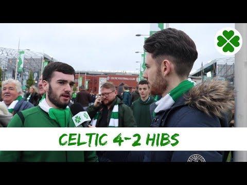 Celtic 4-2 Hibs | Full-time Reaction