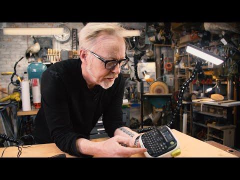 Adam Savage's Favorite Tools: Labelmaker