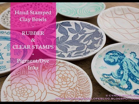 Hand Stamped Clay Bowls Mp3