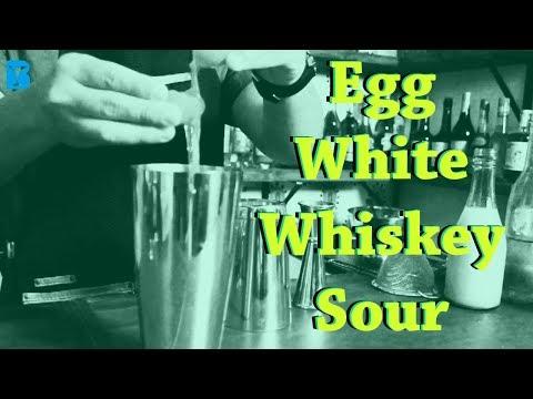 """""""Egge White Whiskey Sour"""""""