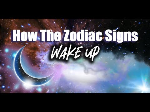 How The Zodiac Signs Wake Up
