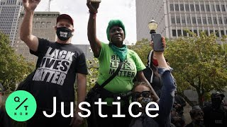 Breonna Taylor Protesters Rally Against Grand Jury Decision in Louisville