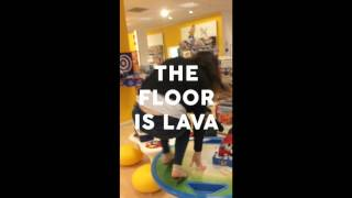 The Floor is Lava - Handicap International