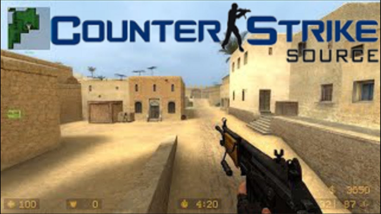 Counter Strike Source - 2020 Gameplay - de_dust2 (22-4)