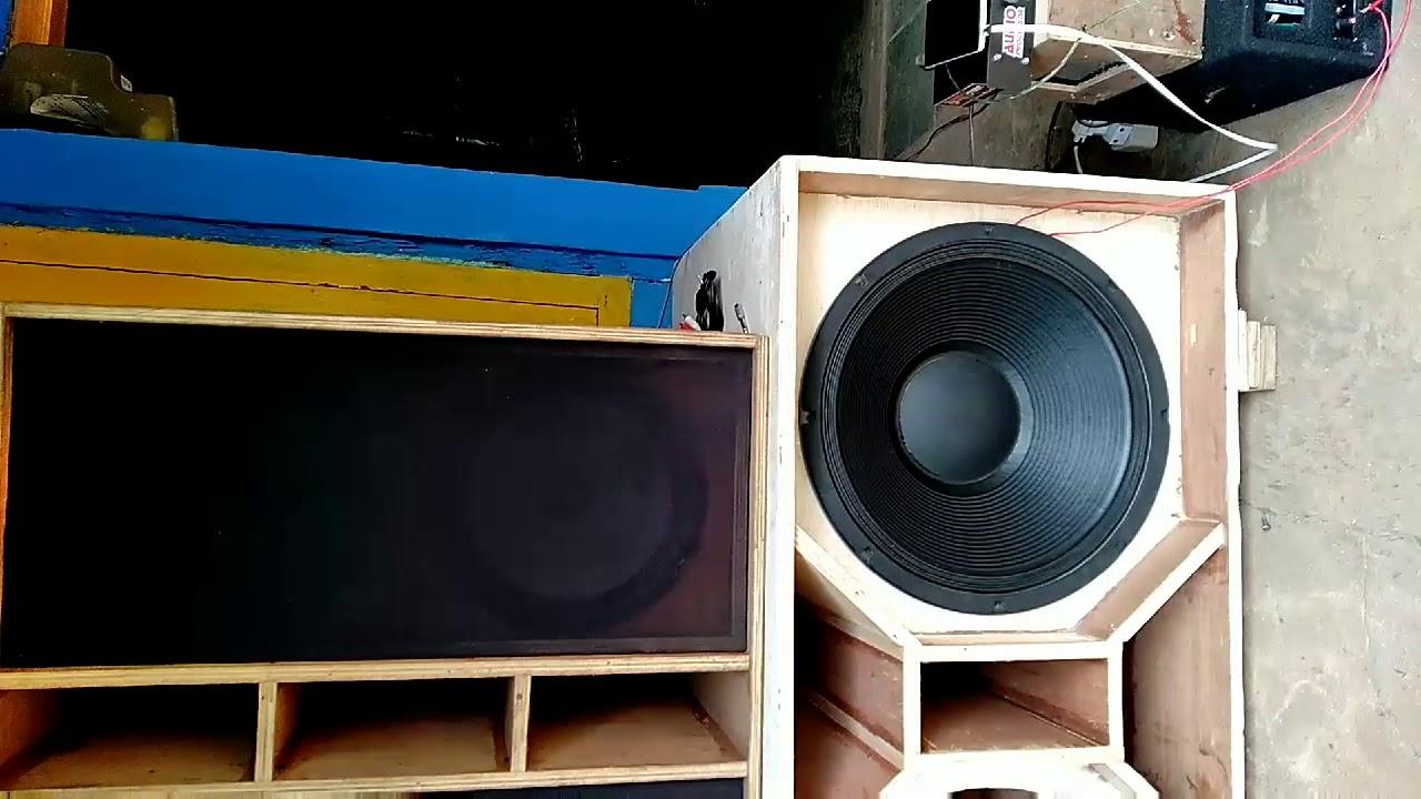 Box speaker 18 inch RDW