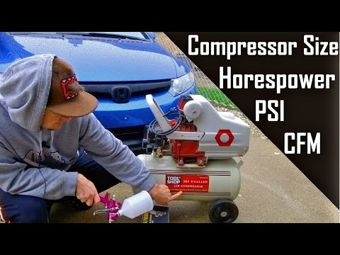 Picking the Right Air Compressor for your Spray Paint Gun | EP 4