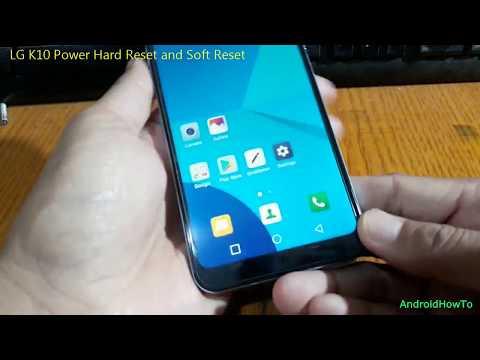 LG K10 Power Hard Reset and Soft Reset