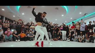 #BACHATA C. Tangana, Nathy Peluso - Ateo / bailando  Marco y Sara bachata style Portugal 2021