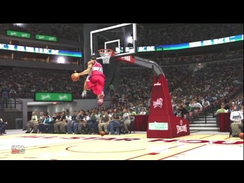 NBA 2K13 Dunk Contest: My Player vs LeBron James Dwayne Wade and Blake Griffin! ft Marc Alexander