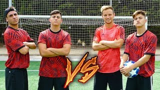 RAKITIC & MINIBUYER vs ROBERT PG & XBUYER ¡MINIJUEGOS DE FÚTBOL REAL!