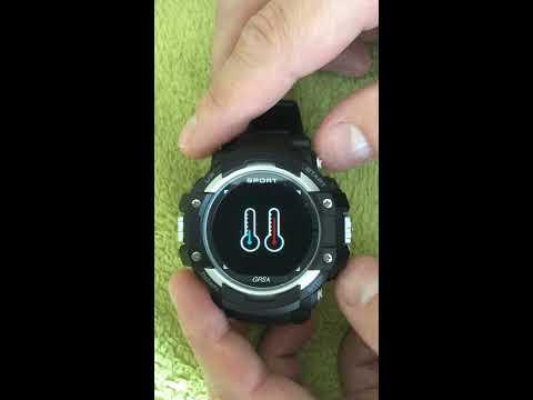 Подробный обзор смарт часов No.1 F7 GPS tracker waterproof IP67 outdoor rugged smartwatch