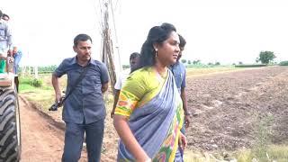 Rajadhani lanka mumpu pratalanu paryatistunna Adikara pratinidi MLA Dr. Vundavalli Sridevi garu