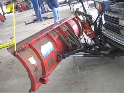 92 Chevy 2500 4x4 w western uni mount 8' plow 1529 UP102