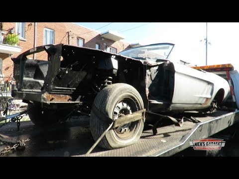 1968 Mustang Rescue - Convertible Ford Hidden For Decades