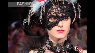 CHRISTIAN LACROIX Fall Winter 2001 2002 Haute Couture Paris - Fashion Channel
