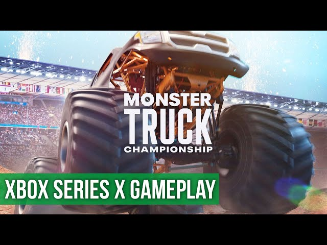 Monster Truck Championship - Gameplay (Xbox Series X) HD 60FPS