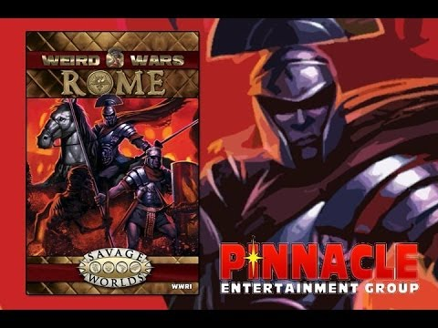Game Geeks #222 Weird War: ROME for Savage Worlds by Pinnacle