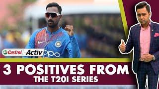 #WIvIND: 3 POSITIVES from the T20I SERIES   Castrol Activ #AakashVani