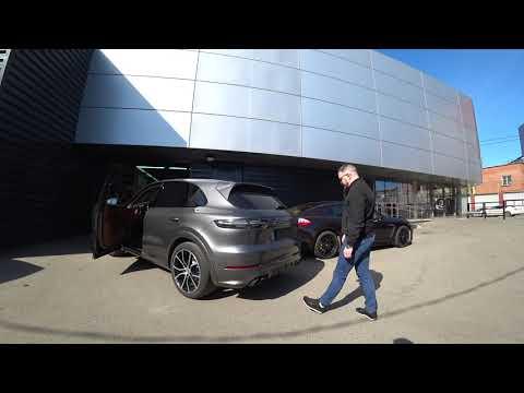 Закрытие крышки багажника с кнопки и спомощью Easy Open на Porsche Cayenne E3 2019