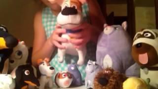 Игрушки из мультфильма Тайная жизнь домашних животных