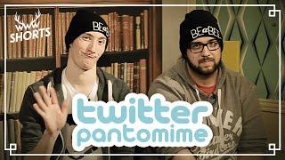 TWITTER-PANTOMIME mit BrokenThumbsTV   TWIN.TV