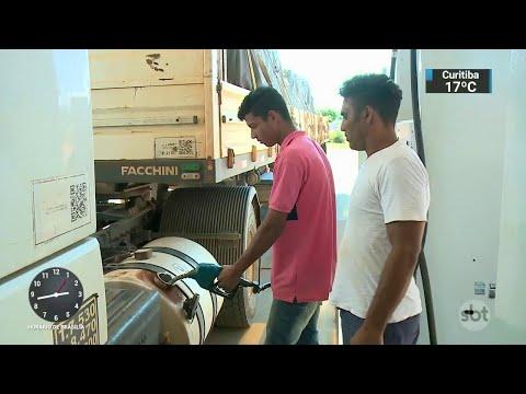 Gasto para manter desconto no diesel deve ser maior do que o previsto | SBT Notícias (12/06/18)