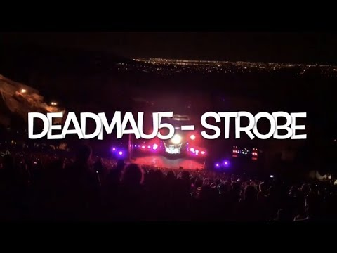 deadmau5 - Strobe - Red Rocks - Morrison, CO - October 20th, 2017