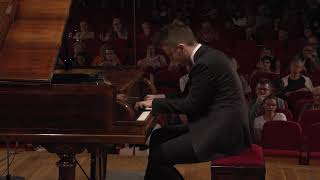 Kamil Pacholec – F. Chopin, Etude in A minor, Op. 25 No. 11 (First stage)