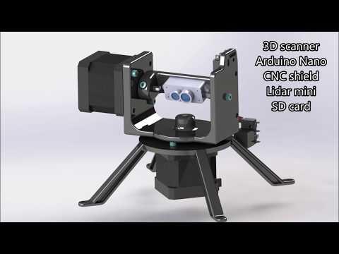3D scanner v2 – mochr cz