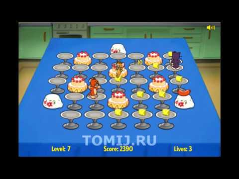 Прохождение игры Битва за Еду с Том и Джерри (Food Fight)