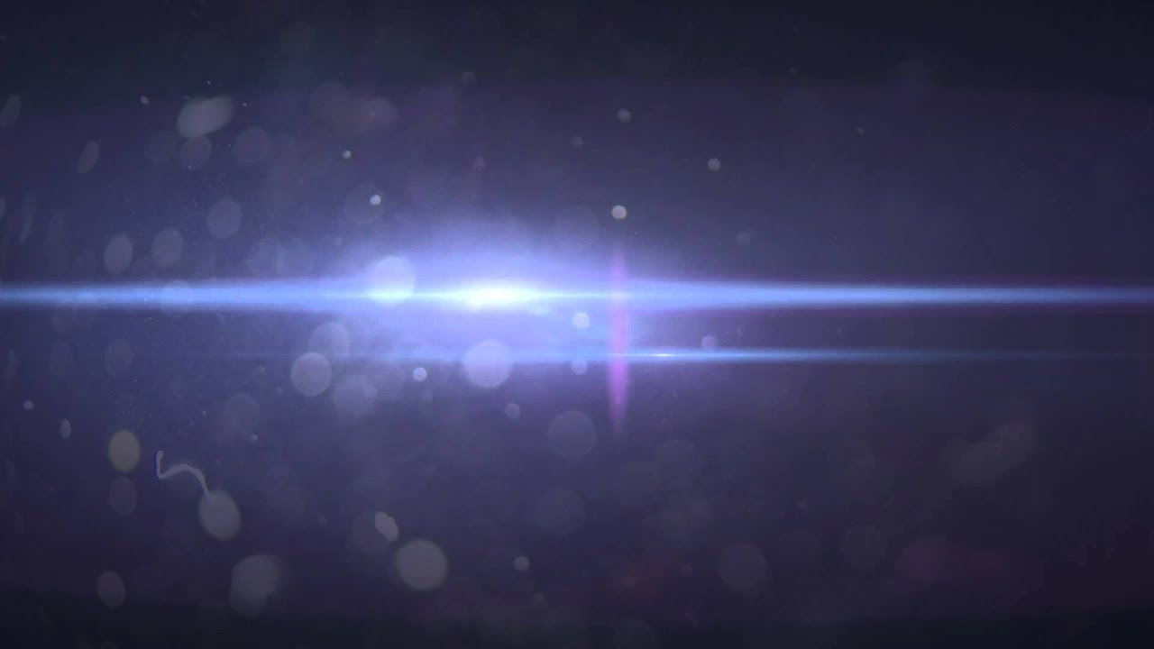 Dirty 50mm Lens Flare HD Footage Dark Blue Background ...