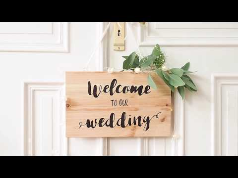 Wedding signs ▪ DIY Tutorial  |  STAEDTLER