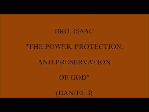 THE POWER, PROTECTION, AND PRESERVATION OF GOD 11.27.2016