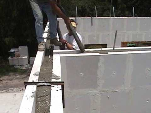 Green Energy Efficient, Hurricane Resistant, Cost Effective and Mold Resistant Concrete Wall System