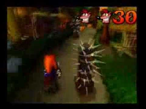 Crash Bandicoot 1, Hog Wild