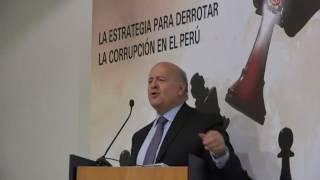 La Estrategia para Derrotar a la corrupción en el Perú