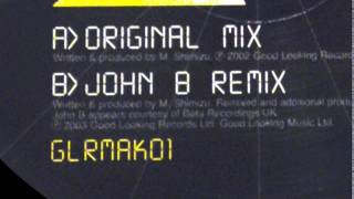 GOOD LOOKING RECORDS [ GLRMAK 01 : JOHN B RMX - my soul - ] drum and bass