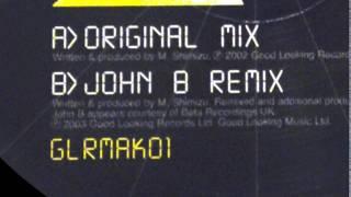 GOOD LOOKING RECORDS [ GLRMAK 01 : JOHN B RMX - my soul - ] drum and bass