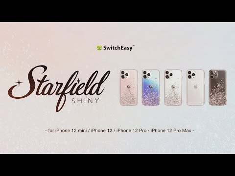 Starfield - Quicksand Case with Glitter Hard Back Cover for iPhone 12 & 12 Pro | SwitchEasy