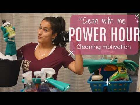 CLEAN WITH E 2017// CLEANING MOTIVATION// Cleaning before vacation